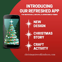 The Christmas Tree of Kindness'App helps promote kindness and giving during the Holiday Season and provides new way to connect with loved ones