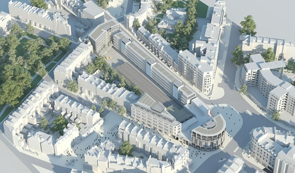 Image 1 – Overview of the Proposed Development - copyright Rogers Stirk Harbour + Partners.