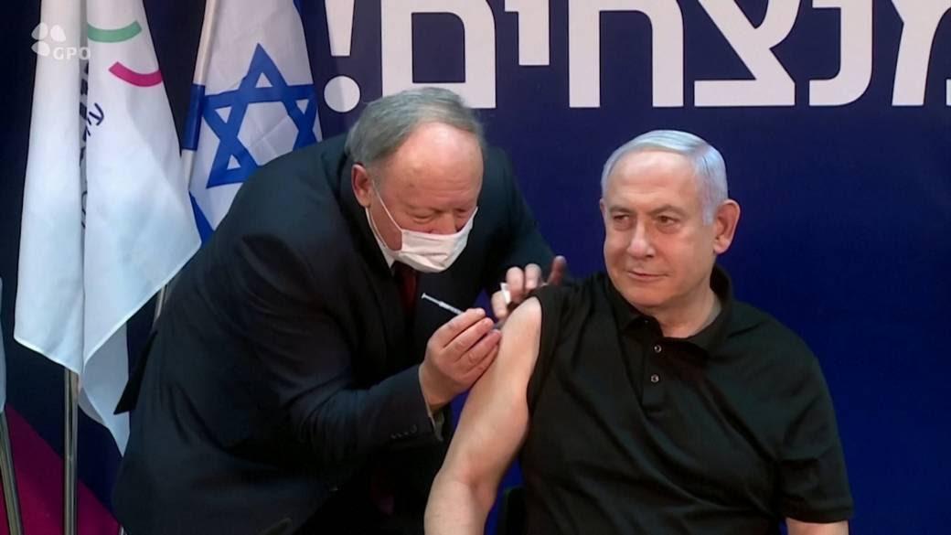 Netanyahu becomes first Israeli to receive Pfizer coronavirus vaccine - National | Globalnews.ca