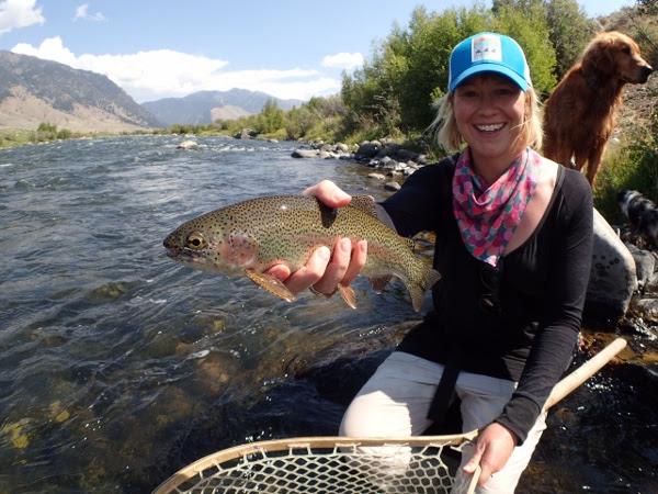 Kara Tripp...MT Women's Fly Fishing School Director
