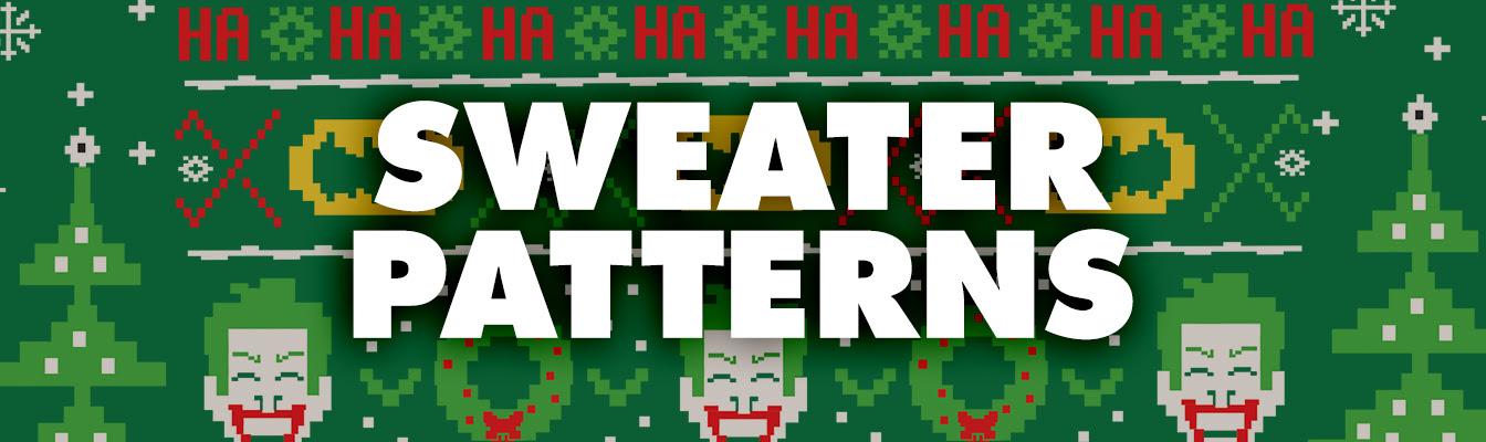 Shop Sweater Patterns