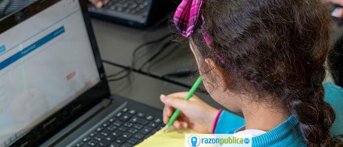 Educación publica virtual