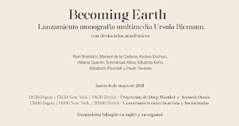 Becoming Earth / Monografía multimedia Ursula Biemann