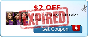 $2.00 off ONE Clairol Age Defy Color Product