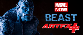 MARVEL NOW BEAST ARTFX+ STATUE