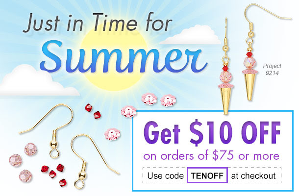 Just in Time for Summer - Get $10 Off on orders of $75 or more