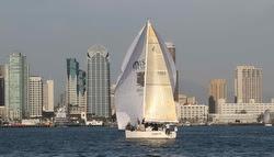 J/109 sailing off southern California