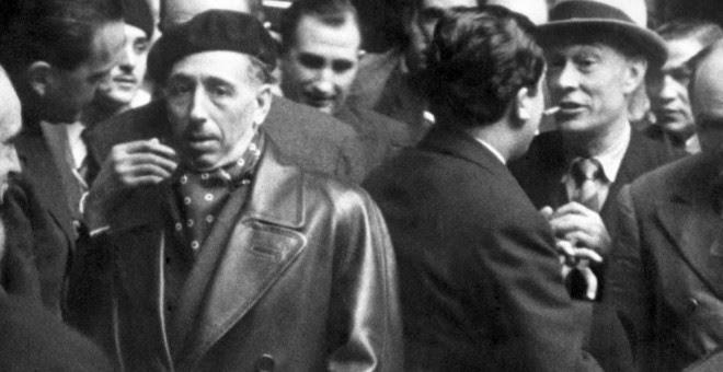 Lluís Companys marcha el día 1 de febrero de 1939. EFE