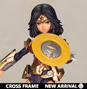 DC Comics Cross Frame Girl Wonder Woman (Humikane Shimada Ver.) Model Kit