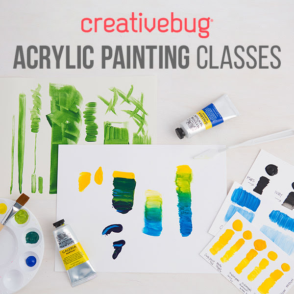New Class! Acrylic Painting Fo...