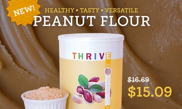 New! Peanut Flour - only $15.09