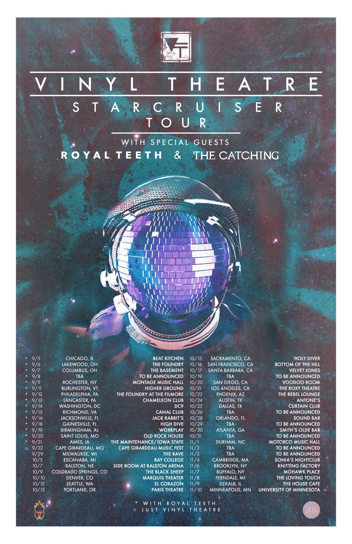 vinyl theatre starcruiser tour