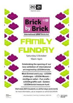 Brick by Brick Funday Poster