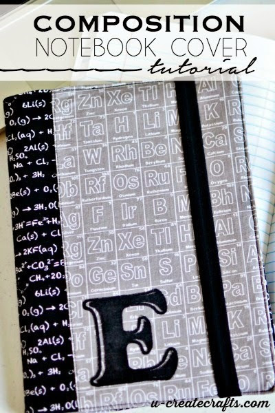 Composition Book Cover at u-createcrafts.com  RB BLOG