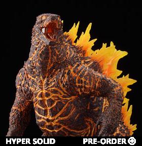 Godzilla: King of the Monsters Hyper Solid Series Godzilla (Burning Ver.)