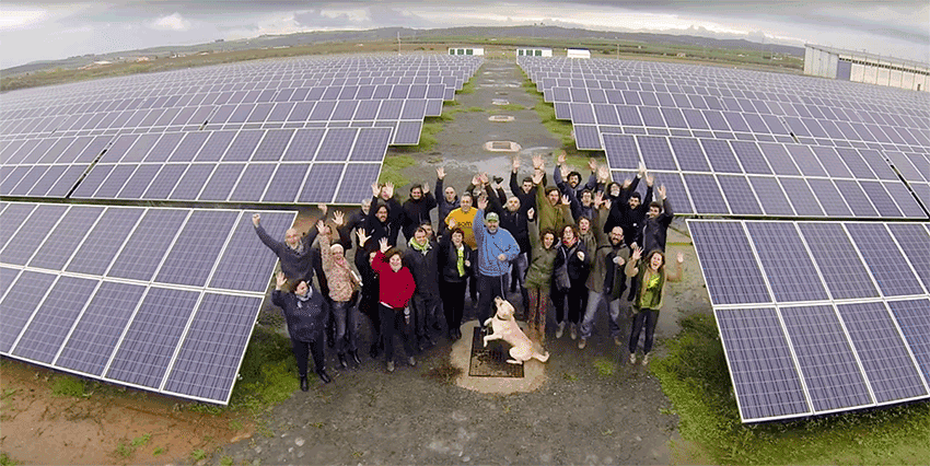 Energie Partagée et Enercoop ont une cousine en Espagne !