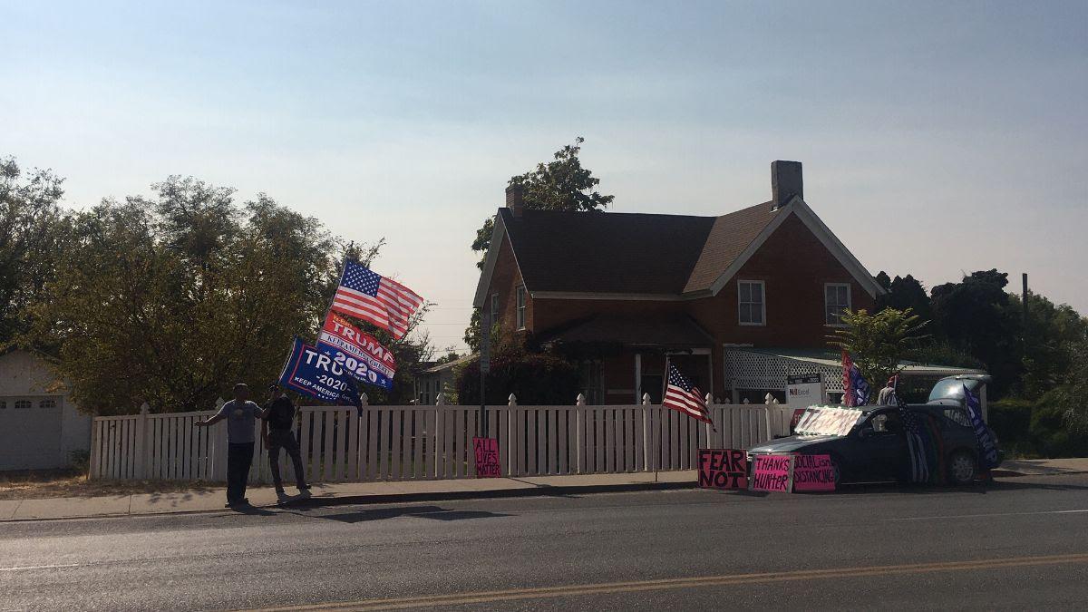 Trump Flags in Kanab Utah