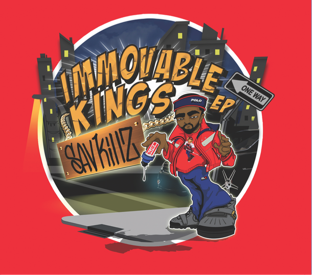 SAV KILLZ - IMMOVABLE KINGS EP COVER
