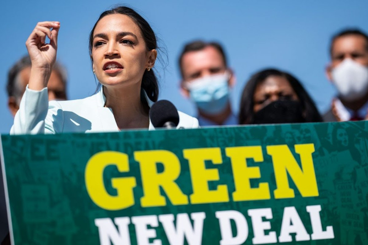 AOC Slams Republicans For Using 'Statistics' And 'Studies' To Debunk Her Green New Deal Claims
