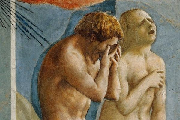 La expulsión de Adán y Eva del Paraíso terrenal, de Masaccio (1426-1428)