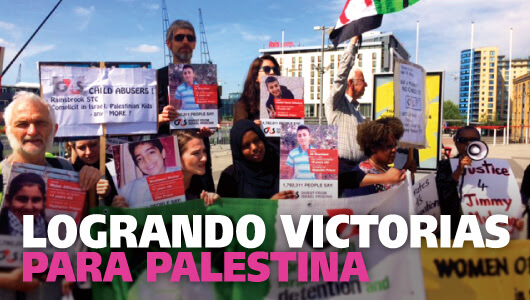 Logrando victorias para Palestina