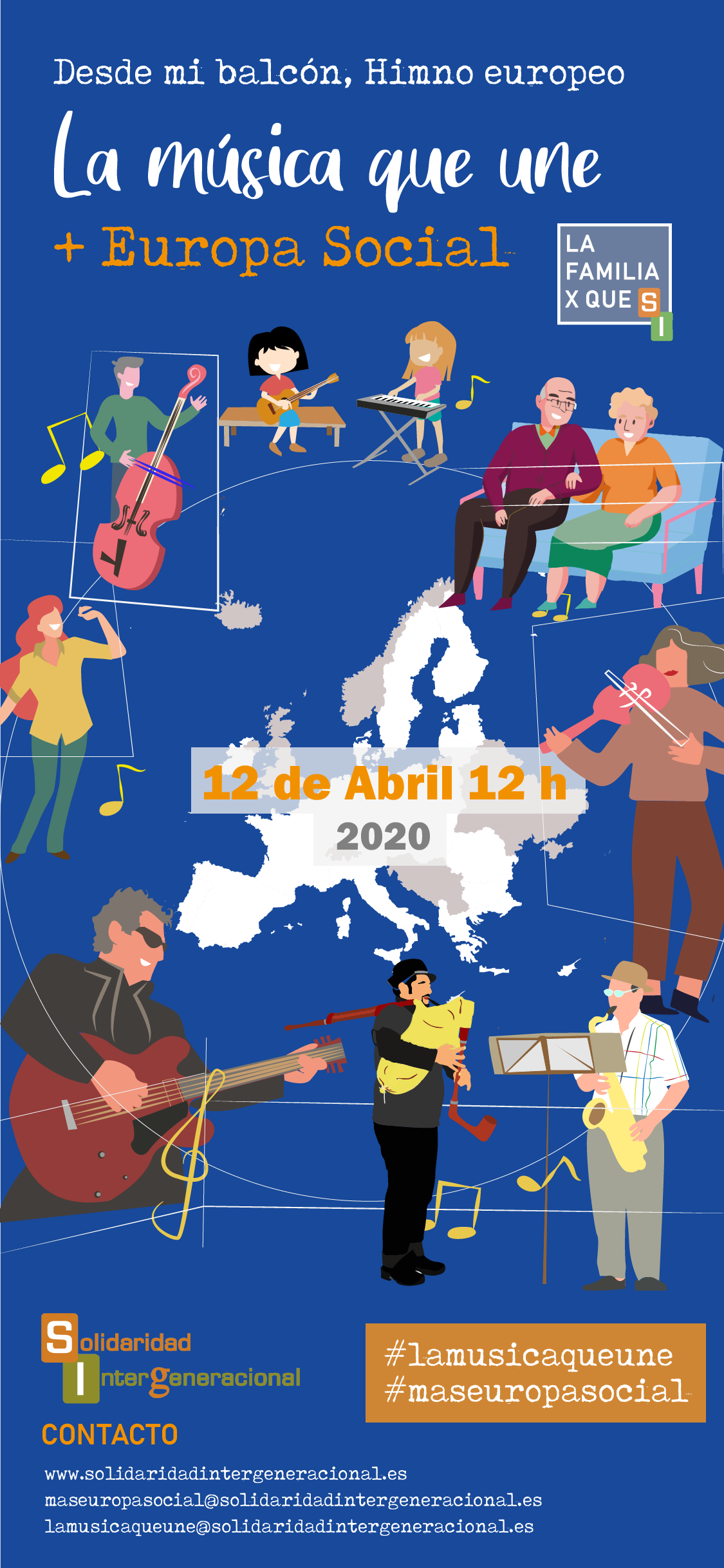 985337d4 89a1 4ebc 8e26 913ebabdc728 - La música que une a toda Europa el 12 abril a las 12h