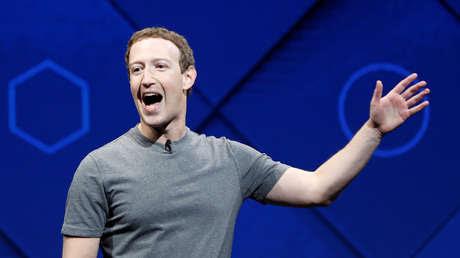 El presidente de Facebook, Mark Zuckerberg, San Jose, California, EE.UU., 18 de abril de 2017.