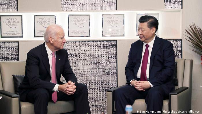 Joe Biden e Xi Jinping