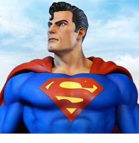 NEW TWEETERHEAD STATUES - SUPERMAN