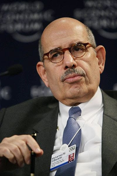 Former IAEA Director General Mohamed ElBaradei referred to a series of documents provided by Israel in his 2012 memoirs. Credit: WEF/cc by 2.0