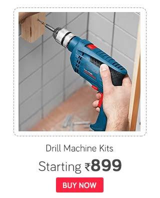 Drill Machine Kits & Combos