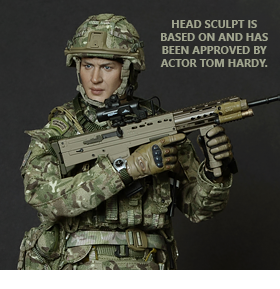TOM HARDY BRITISH ROYAL MARINE 1/6 SCALE FIGURE