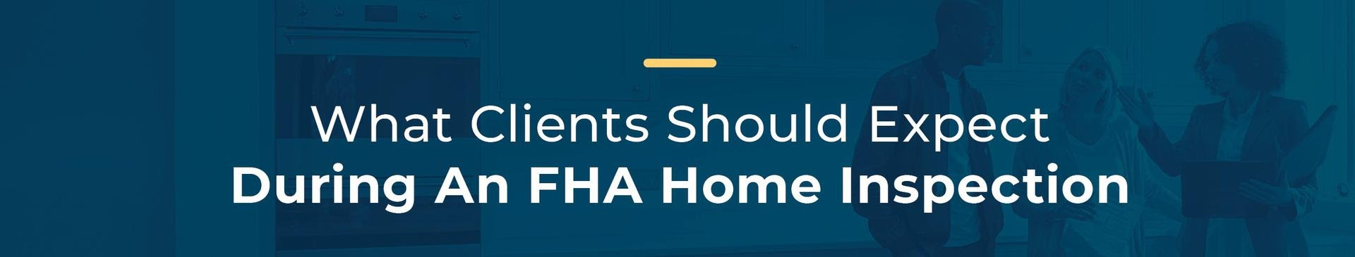 Kentucky FHA Appraisal Checklist