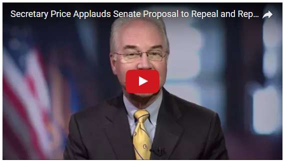 HHS Secretary Tom Price M.D. statement video