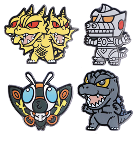 Godzilla Pins