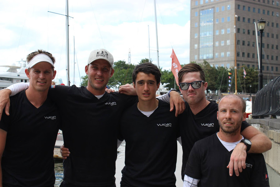 J/24 South African sailing team