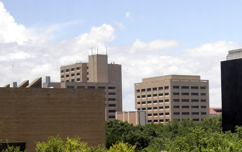 UT Austin engineering bldgs
