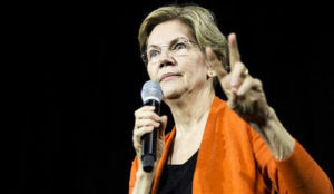 "Warren threatens Israel: Accept ""two-state solution,"" or ""everything is on the table"""
