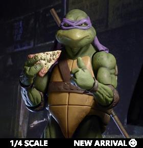 TMNT (1990 Movie) Donatello 1/4 Scale Figure