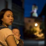 """L'actrice Angel Lee dans le court-métrage """"Babes' not alone"""" réalisé par Yi-shan Lee Jovi. (Copyrights : Yi-shan Lee Jovi)"""