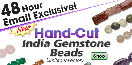 NEW India Gemstone Beads!!