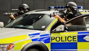 "UK: Counter Terrorism Policing unit arrests ""man"" on suspicion of belonging to ""proscribed organization"""