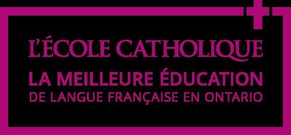 L'école catholique, la meilleure éducation de langue française en Ontario