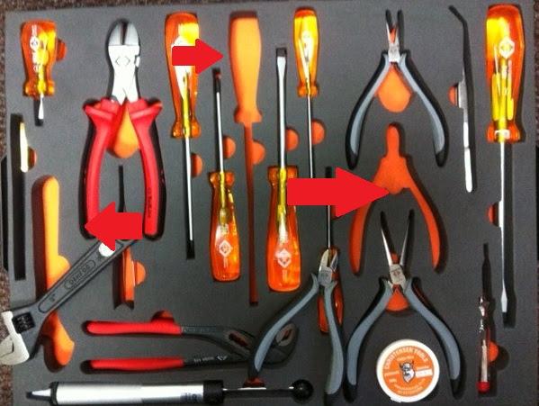 Lost tools?