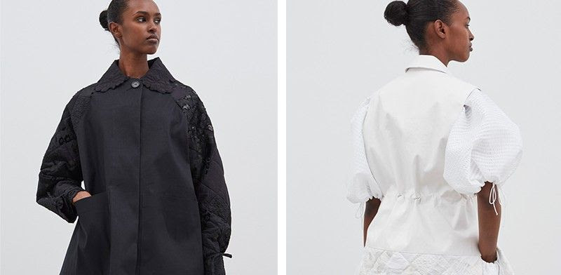 Cecilie Bahnsen 'Studio Collection' crafted by Macintosh
