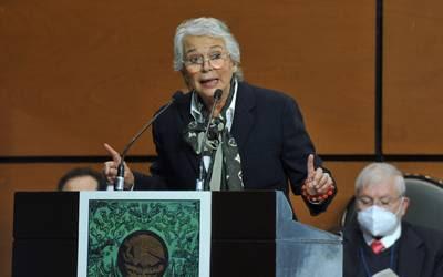 Sánchez Cordero aseguró a diputados que está al servicio de la Patria y no  de un patriarca - El Sol de México