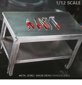 NOVA METAL SERIES 1/12 SCALE METAL TABLE