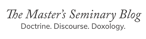 The Master's Seminary Blog