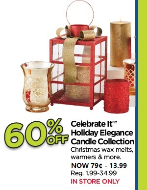 60% Off Celebrate It Holiday Elegance Candle Collection