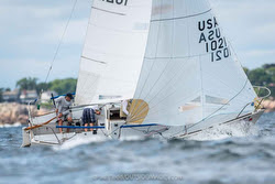J/24s sailing Marblehead NOOD